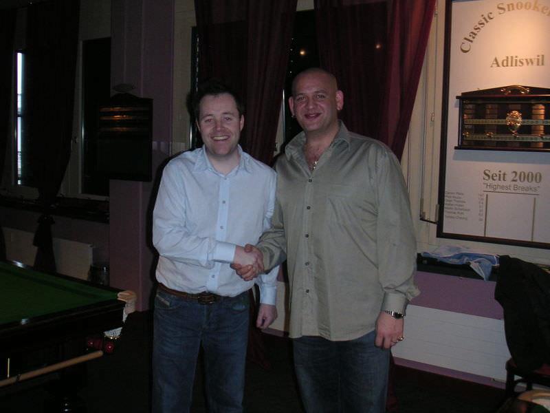 John Higgins and Darren Paris