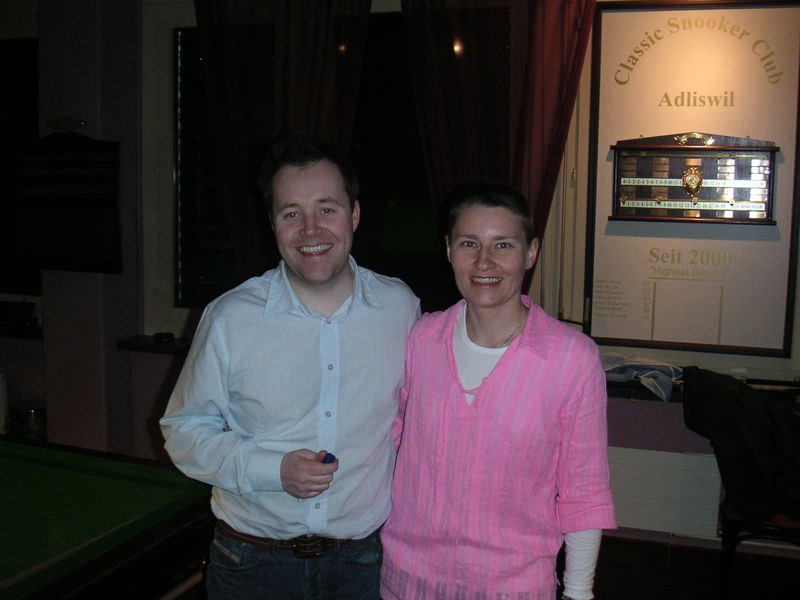 John Higgins and Jeannette