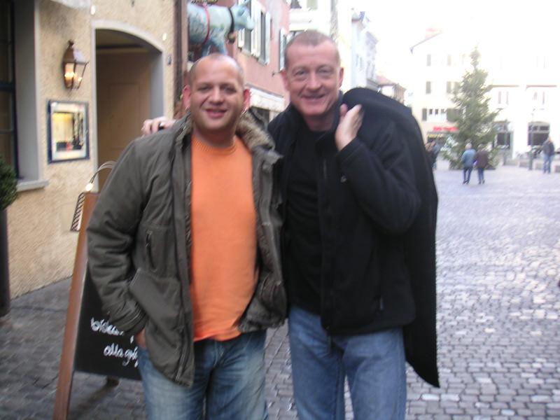 Steve Davis and Darren Paris