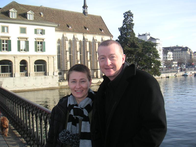 Steve Davis and Jeannette